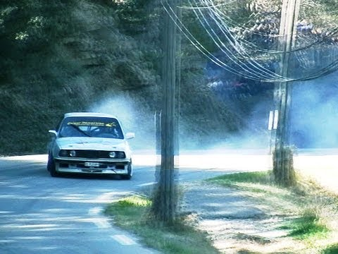 E30 hillclimb drift