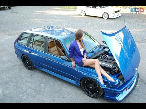 BMW E30 M3 Touring S50 Engine