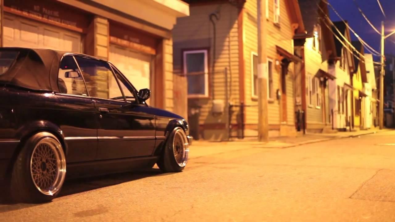 BMW E30 stanced USA