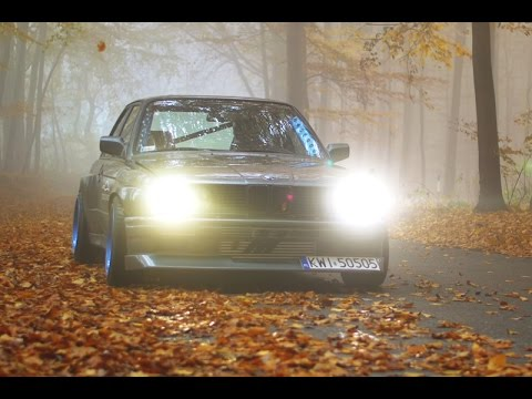 BMW E30 drifting in Poland